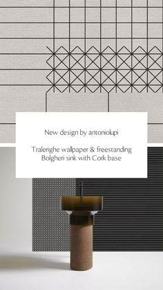 Interior Wallpaper, Bathroom Furniture, Scandinavian, Sink, Wall Decor, Styling Tips, Collaboration, House, Inspiration