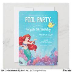 Pool Party Birthday Invitations, Girls Birthday Party Themes, Free Birthday Card, Birthday Supplies, Birthday Mug, Summer Birthday, Girl Birthday, Birthday Bash, Birthday Party Decorations