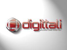 Logotipo criado pela Ópera para a empresa gaúcha Digittali de Marketing Digital.