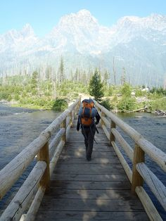 Grand Tetons Backpacking: Day 1 by Wavesonics, via Flickr