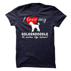 Goldendoodle T Shirts, Hoodies, Sweatshirts. CHECK PRICE ==► https://www.sunfrog.com/Pets/Goldendoodle-sfs0115.html?41382