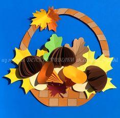 ДЕТСКИЕ ПОДЕЛКИ Fall Paper Crafts, Autumn Crafts, Fall Crafts For Kids, Autumn Art, Craft Activities For Kids, Craft Stick Crafts, Kids Crafts, Art For Kids, Diy And Crafts