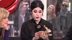 #CollectorsCafe #KatVonD #TattooArtist #CelebrityTattooArtist