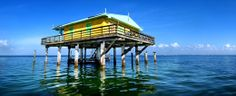 VISIT - Stiltsville in Biscayne National Park
