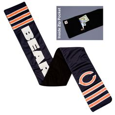 NFL Chicago Bears Jersey Scarf, Adult Unisex