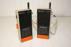 Vintage Midland Walkie Talkies by auctionjunkies on Etsy