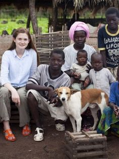 Harry Potter actress Bonnie Wright travels to Senegal to raise awareness of food crisis