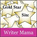 One of my old badges: Writer Mama Gold Star Badge