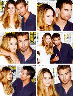 Shai and Theo at Comic-Con