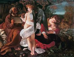 Michelangelo Caravaggio - Rest on the Flight into Egypt