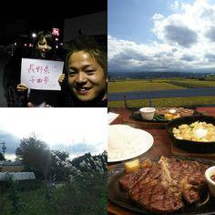 Instagram【shiyouheitakemura】さんの写真をピンしています。 《一日目 長野県をブラブラ。 出発が遅くなってしまったのであまり走れなかった笑  佐久の母校に行きましたが、まさかの日曜スクーリングなくなってるし 飯田で良く会う島さんしか、いないという笑  続いて、軽井沢に行って思い出の中軽井沢駅だけ撮ってきました。 素晴らしく大きな駅に進化していて、ビックリ図書館も一緒になって、昔の面影一切なし笑  最後は千曲市で、吉田さんと合流して夕飯食べて、夜景見て色々しゃべりました笑 吉田さんに夕飯奢っていただいて、ステーキを食べさせていただき、素晴らしい旅の門出となりました。 マジでありがとうございます(*≧∀≦*) 走行距離284キロでした 明日はもっと走る🏃 そんな感じでした笑 今日群馬まわります。  #日本一周#スバル#エクシーガ#長野県#佐久#軽井沢#千曲#母校#思い出の地#懐かしい風景#第二の故郷#夜景#ずっと見に行きたかった#旅の門出#祝い#ステーキ#ありがとう》