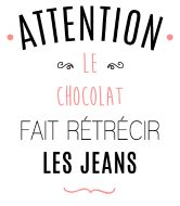 personnaliser tee shirt Attention au chocolat - Della U. The Words, Cool Words, Karma, Quote Citation, French Quotes, Positive Attitude, Sentences, Slogan, Quotations