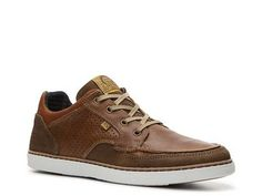 Bullboxer Laten Sneaker - Get that laid back, cool vibe anytime when you wear the Laten from Bullboxer! This lace-up sneaker features a mix of different leather and suede treatments for an interesting, yet casual look. Featured in DSW's Fall Commercials!