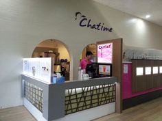 Chatime where you can enjoy some great bubble tea