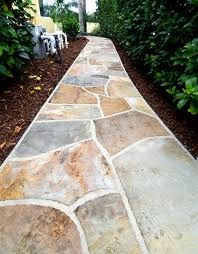 8 flagstone and slate walkway ideas outdoor living pinterest