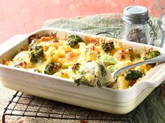 This tasty bake makes for a great side dish – but it's a filling meat-free meal… Braai Recipes, Vegetable Recipes, Vegetarian Recipes, Vegetable Ideas, Veg Dishes, Vegetable Side Dishes, Food Dishes, Baked Vegetables, Veggies