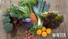 Winter veggies & fruit