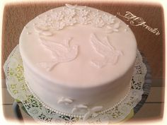 #TMJcreative #confirmation #cake #dove