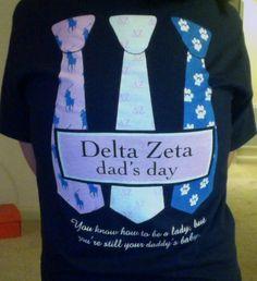 Delta Zeta dad's day