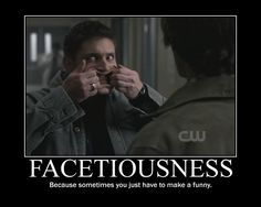 supernatural funny | Supernatural Funny Face by AlmightyPineapple on deviantART