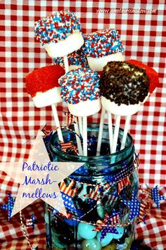 Patriotic Marshmellows 1