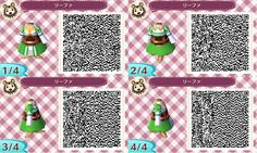 Kirigaya Suguha/Leafa from Sword Art Online (Animal Crossing: New Leaf QR code)