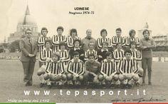 Stagione 1974-75  La rosa dell' Udinese Calcio 1896 … C'ero anch'io … http://www.tepasport.it/foto-storiche/ Made in Italy dal 1952
