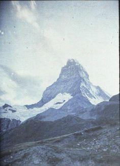 Paysage de montagne Description : Fonds Gustave Eiffel Auteur : Anonyme