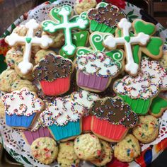 St Patrick's Day Birthday cookies