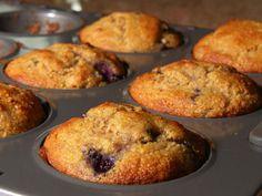 Savory Sesame Whole Wheat Blueberry Muffins #Recipe   Carefree Cooking Magazine