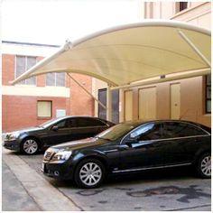 Tensile Car Parking Tensile Structures, Exterior Decoration, Car Parking