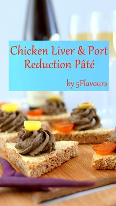 Ridiculously easy to prepare. Elevates any cocktail party or intimate get together with best friends. Chicken Livers, Party Snacks, Vitamins, Cocktails, Elegant, Friends, Cooking, Heart, Breakfast