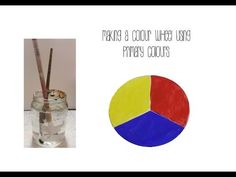 Creating a colour wheel with primary colours
