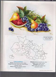 Pintura em Tecido - Guia Prático Nº1 - Marleni - Álbumes web de Picasa