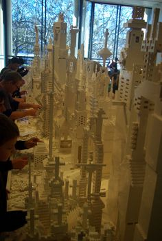 Lego Dunedin Public Art Gallery