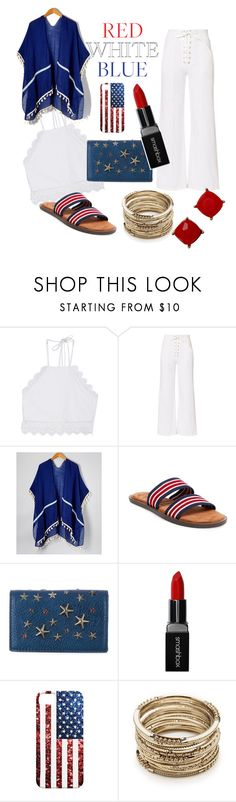 """The 4th"" by prado-julissa ❤ liked on Polyvore featuring Front Row Shop, A.L.C., Jimmy Choo, Smashbox and Sole Society"