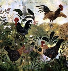 Painting by Anna Pugh...