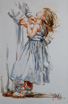 Christian Paintings, Christian Art, Jesus Art, Jesus Christ, Savior, Dancing With Jesus, Jesus Drawings, Jesus Painting, Heaven Painting