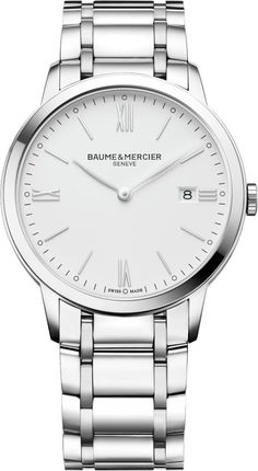 @baumeetmercier  Watch Classima Pre-Order #add-content #basel-17 #bezel-fixed #bracelet-strap-steel #brand-baume-et-mercier #case-depth-5-95mm #case-material-steel #case-width-40mm #date-yes #delivery-timescale-1-2-weeks #dial-colour-white #gender-mens #limited-code #luxury #movement-quartz-battery #new-product-yes #official-stockist-for-baume-et-mercier-watches #packaging-baume-et-mercier-watch-packaging #pre-order #pre-order-date-28-02-2017 #preorder-february #sihh-geneve-2017…