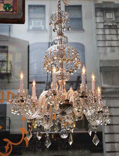 gorgeous antique chandelier