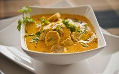 Rajasthani Gatte Ki Sabzi Recipe (Gram Flour Dumplings in Yogurt Curry)