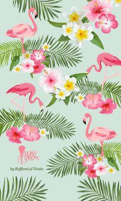56 Fantastiche Immagini Su Flamingo Wallpaper Nel 2018 Sfondi Per