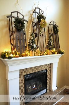Winter Mantle - How to make your decor go the distance!
