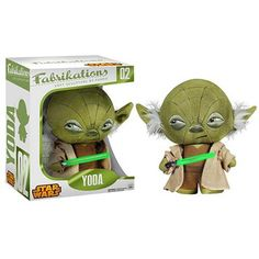 Funko's Yoda Fabikation plush figure is awesome. Fabrikations are not plush figures as you normally know them, they are very firmly stuffed and covered with a layer of fabric, hence the name Fabrikati