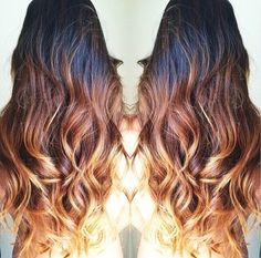 dark ombre hair - Google Search