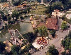Oktoberfest at Kings Island, 1987 Cincinnati Museum, Cincinnati Zoo, Kings Island Cincinnati, Roller Coaster Ride, Roller Coasters, Cedar Point, Abandoned Amusement Parks, Summer Memories, Park Photos