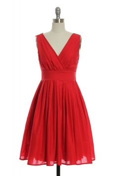 One Scoop, or Two?Dress in Red | Vintage, Retro, Indie Style Dresses