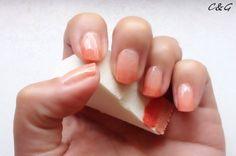 margarita sorbet ombré nails