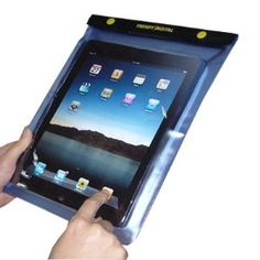 Waterproof iPad Case: A must-have for iPadding in a hot tub.