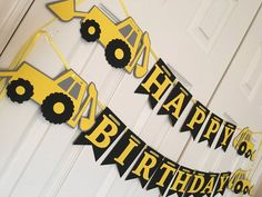 Backhoe Birthday Party Boy Birthday Truck Party by SavorEachSecond